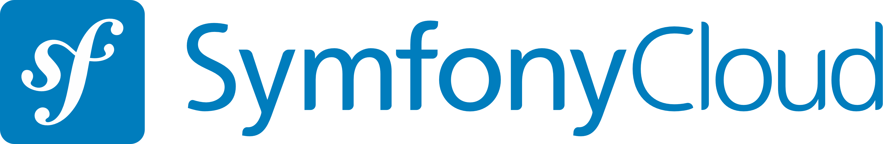 Logo of SymfonyCloud